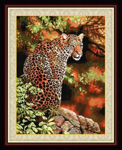 014t (T014) Взгляд леопарда LasKo