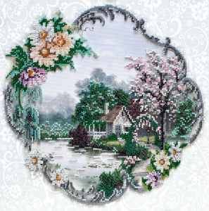Абрис арт домик на воде купить ткань для мебели в леруа мерлен цена обивки