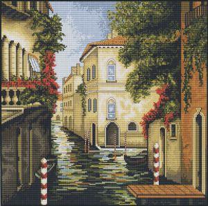Обои цветы, Венеция, канал, переход, мостик картинки на рабочий ... | 297x300