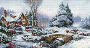 Luca-S Зимний пейзаж
