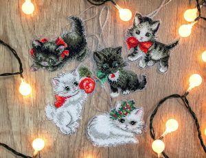 Letistitch Рождественские кошки